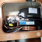 After custom refrigeration install